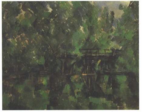 Paul Cézanne: Brücke über den Teich (Foto: Wikimedia Commons)