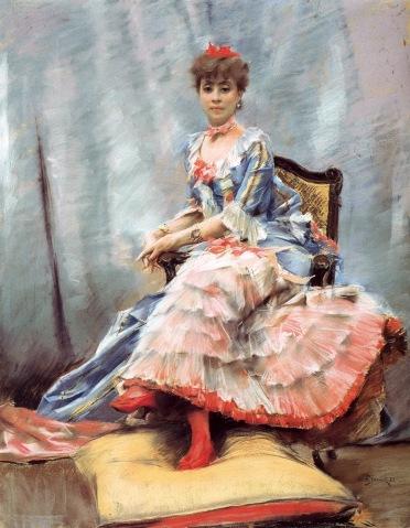 Laure Hayman, 1882 porträtiert von Julius LeBlanc Stewart (Foto: Wikimedia)